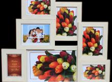 мульти 2712-45 на 7 фото (3- 10х15, 3- 13х18, 1 -20х30) цена 13.2 у.е.