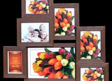 мульти 2712-46 на 7 фото ( 3- 10х15, 3- 13х18, 1- 20х30) цена 13.2 у.е.